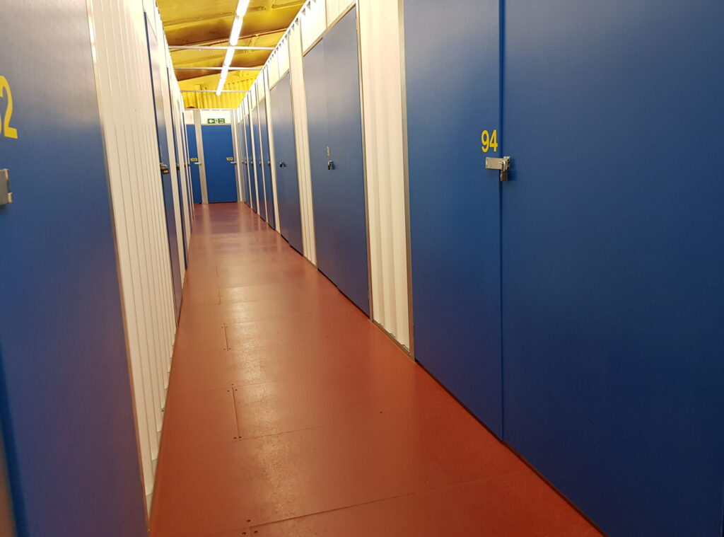 Larger double door units available